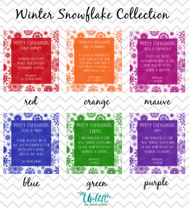 Winter Snowflake Collection