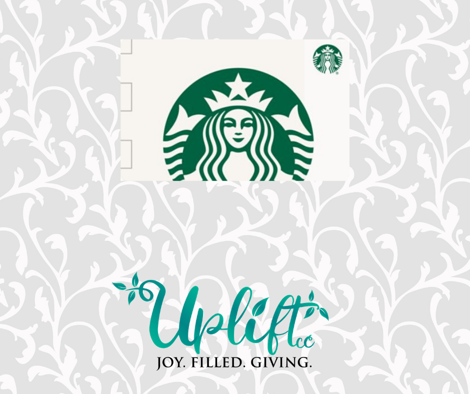 Starbucks Gift Card ($10, $15, $25)
