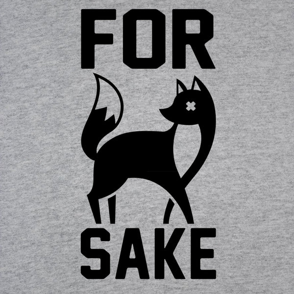 For Fox Sake Crewneck Sweatshirt
