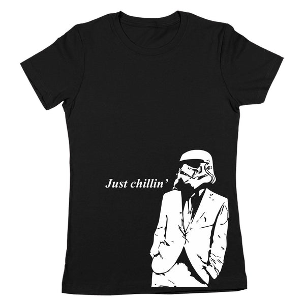 Just Chillin Stormtrooper Women's Fit T-Shirt