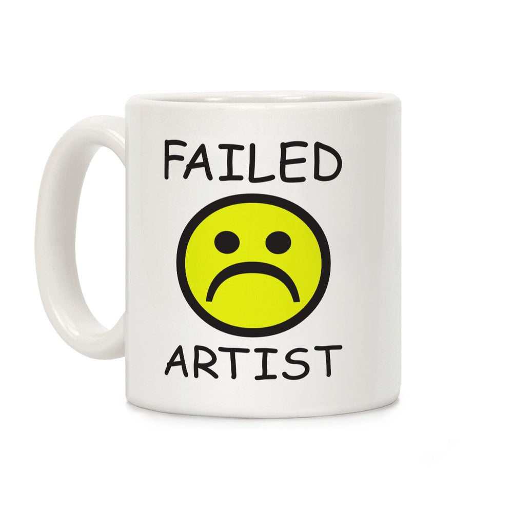 Failed Artist Ceramic Coffee Mug by LookHUMAN