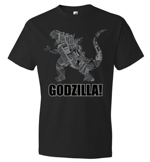 Godzilla Newspaper T-Shirt