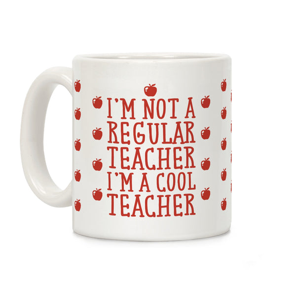 Cool Teacher Ceramic Coffee Mug by LookHUMAN