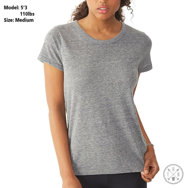 Free Af Women's Relaxed Fit Tri-Blend T-Shirt