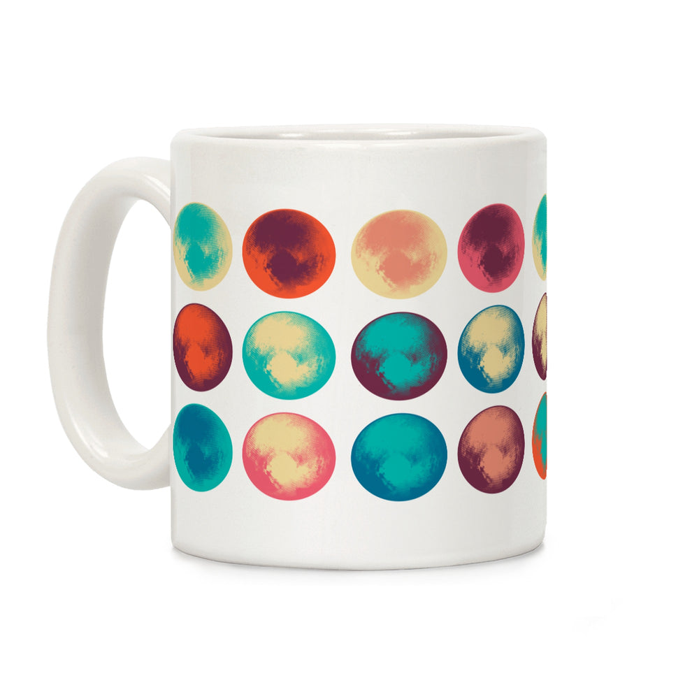 Pop Art Pluto Ceramic Coffee Mug by LookHUMAN