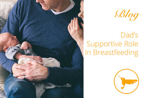 Dad's Supportive Role In Breastfeeding