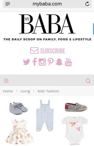 mybaba feature: 25 Items of Baby Fashion to Make The Sun Shine!
