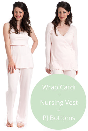Nursing pyjamas & breastfeeding tips for keeping cosy this winter
