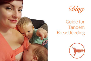 Breastfeeding Twins - how to tandem breastfeed