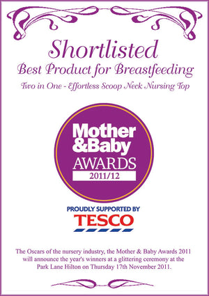 Mother & Baby Award - Best Product for Breastfeeding