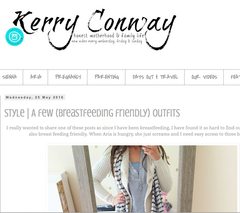 Sweetheart Nursing Top Parent Blogger Kerry Conway
