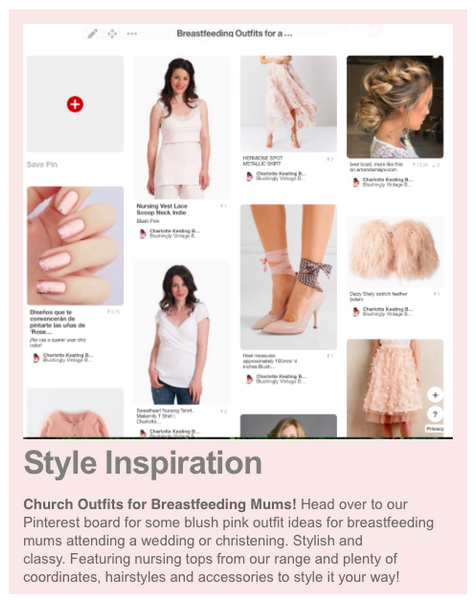 church outfits for Breastfeeding mums