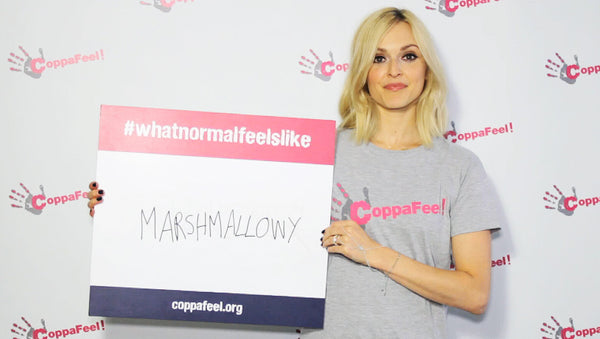 Fearne Cotton CoppaFeel! Breast Cancer Charity