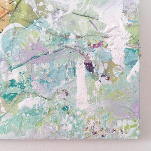 Nympsfield Abstract painting 20cm x 20cm
