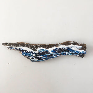 Driftwood Wave 24 | Coastal home decor art