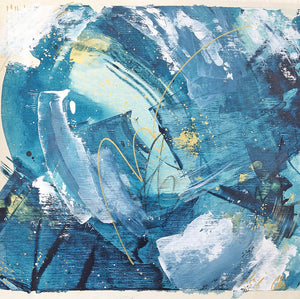Waves 6 Allure Abstract Painting 40cm x 36cm