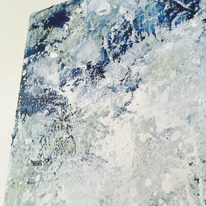 Distant Shores 9 abstract painting