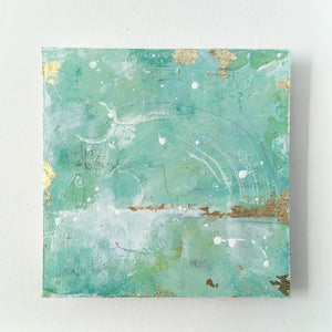 Shifting Sands Abstract painting 20cm x 20cm