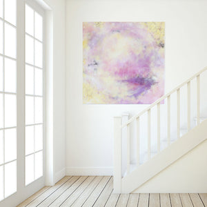 "Spellbound Abstract Painting 120cm sq 47"" sq"