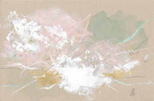 Cloudburst 17 In You I Trust #6 Small Abstract Painting
