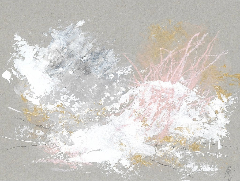 Cloudburst 19 In You I Trust #4 Small Abstract Painting