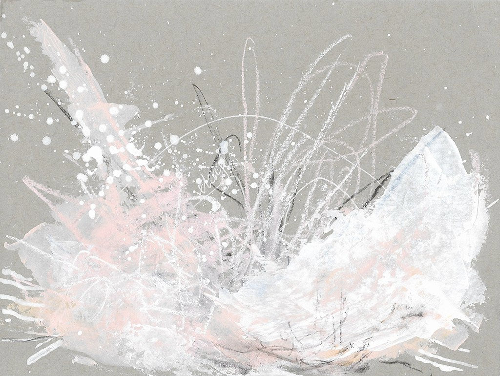 Cloudburst 21 Gentle Release Small Abstract Painting