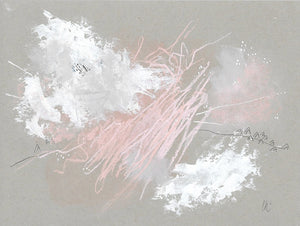 Cloudburst 22 In You I Trust #2 Small Abstract Painting