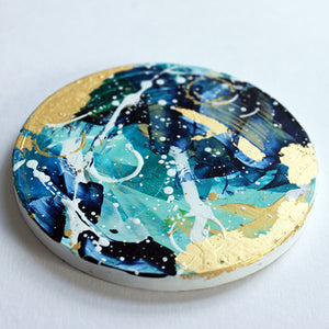 Elysium Hand painted coasters