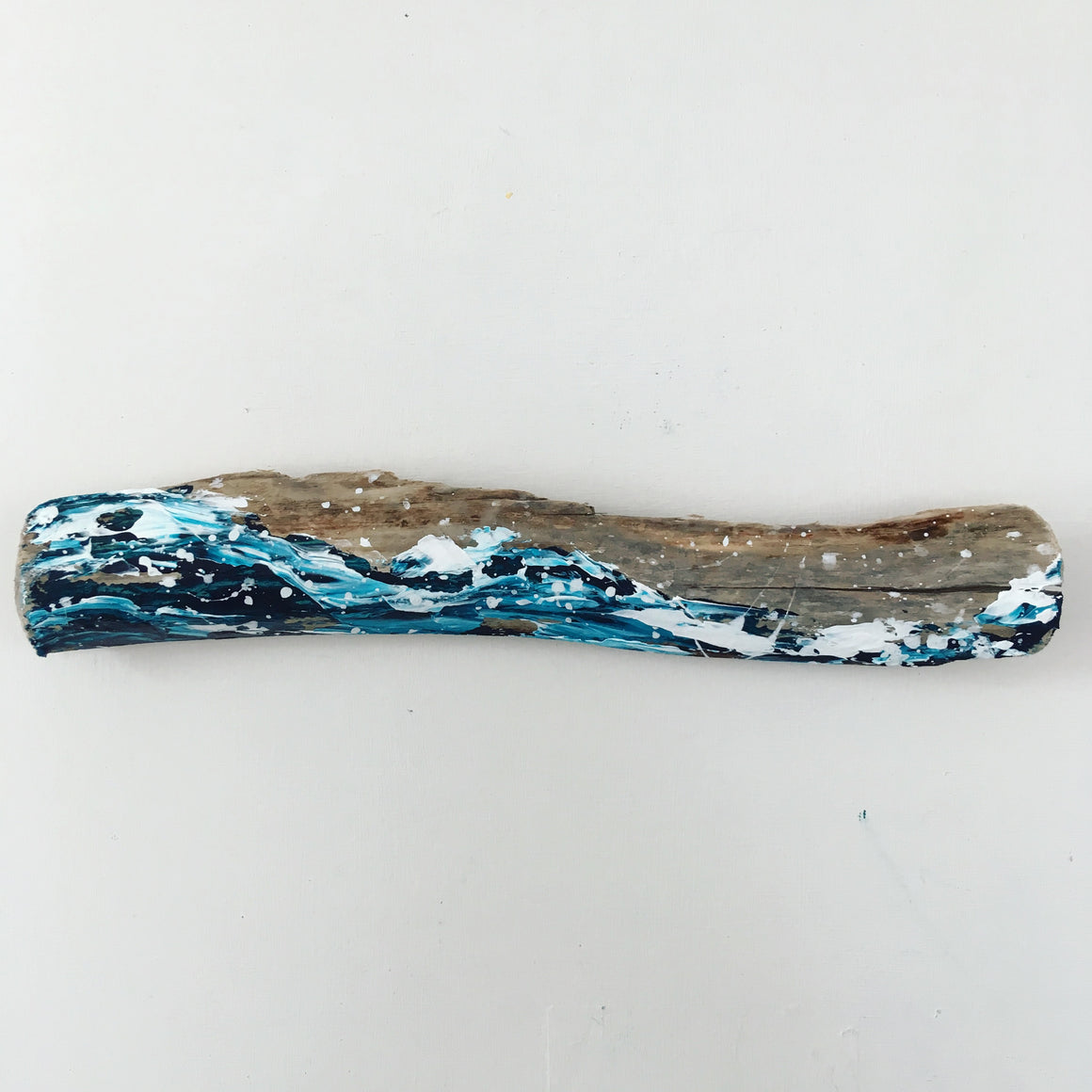 Driftwood Wave 14 | Coastal home decor art