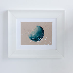 "Moonlit Moon Painting 8"" x 10"""