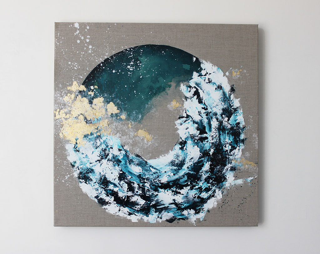 Moonscape 27 Momentum Abstract 60cm x 60cm