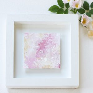 Uplifted Mini Abstract Painting 20cm x 20cm