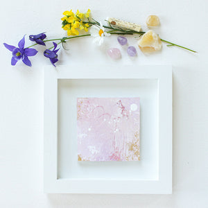 Sweet Faith Mini Abstract Painting 20cm x 20cm
