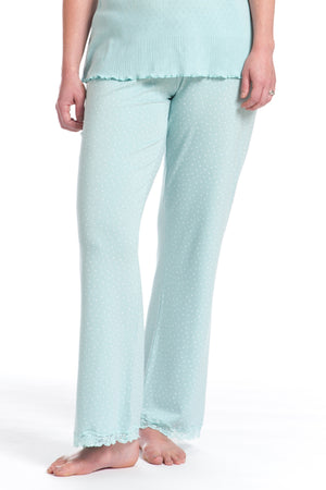 Maternity PJ Bottoms Speckled Duck Egg