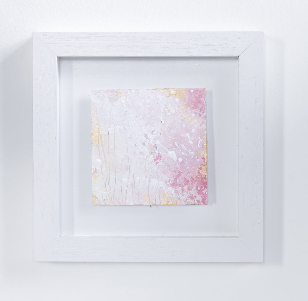 Shimmer Mini Abstract Painting 20cm x 20cm