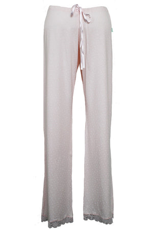 pink maternity nursing pjs trousers