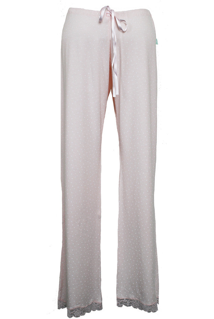 nursing maternity pyjama bottoms in pink