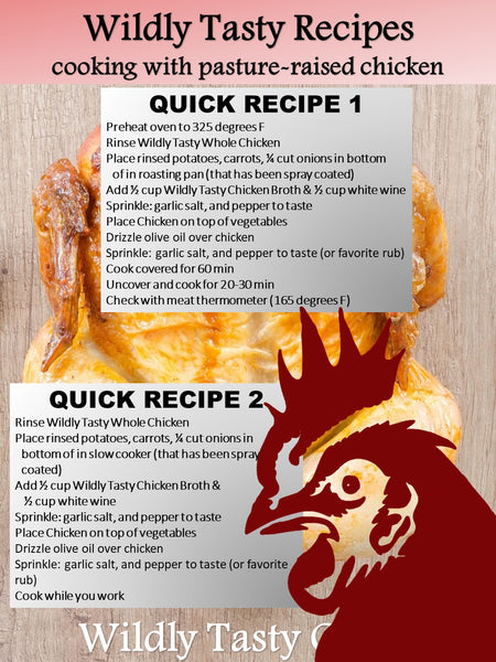 Wildly Tasty Chicken Quick Recipe #2 - Chicken Pot Roast