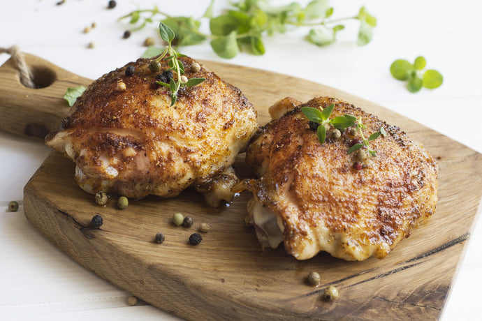 Wildly Tasty Chicken Thighs
