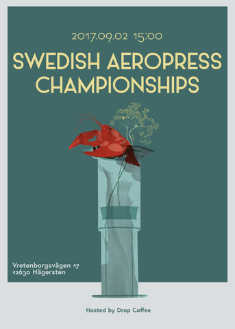 Swedish Aeropress 2017 Drop Coffee