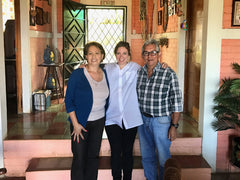 Visiting Mauricio Ortiz and Mary Ortiz at El Sunzita