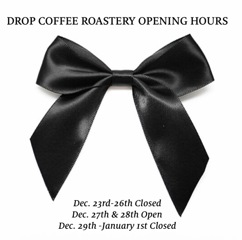 Drop Coffee Shipping Holidays
