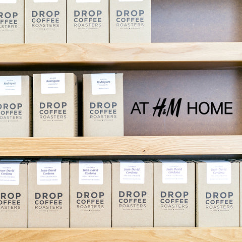 Drop Coffee at H&M Home
