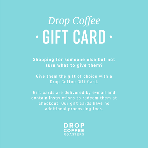 Gift Card for dropcoffee.com