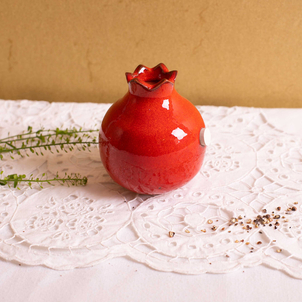 Pomegranate Salt shaker