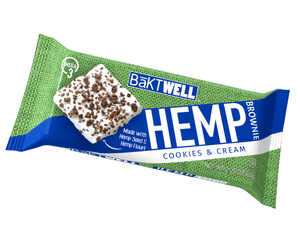 Cookies and Cream Hemp Brownie - Bāktwell Hemp