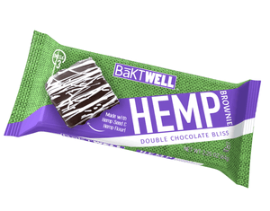 Double Bliss Hemp Brownie - Bāktwell Hemp