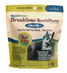 Brushless Toothpaste (small + medium dogs)
