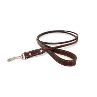 Rolled Leather Leashes