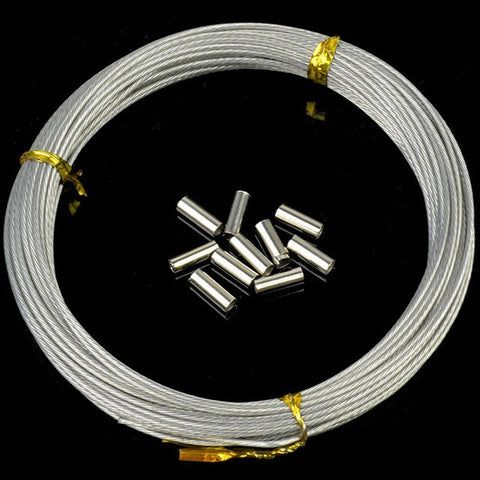 7 strand plastic coated pike trace wire